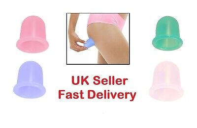 Cupping CUP Therapy Silicone Massage Vacuum Body Facial Ageing Suction Cellulite