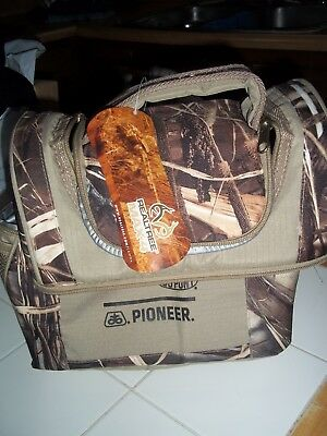 New Pioneer Feed & Seed Camo Cooler Lunch Bag