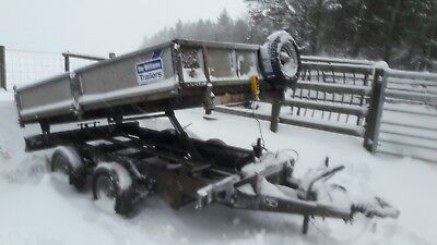ifor Williams tipping trailer tipper 10 foot no v.a.t
