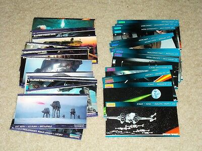 Topps Widevision STARS WARS & EMPIRE STRIKES BACK Lot of 45 Cards