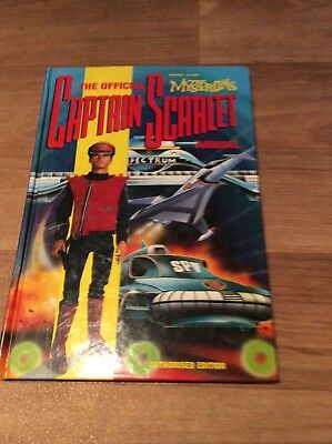 Captain Scarlet And The Mysterons Hb Annual 1993
