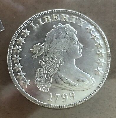 1799 Draped Bust Silver Dollar RARE Type CoinExtremely Fine