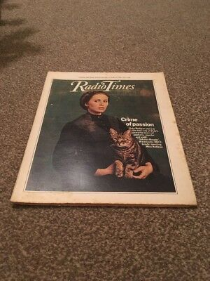 Radio Times. Kate Nelligan. 8-14 March 1980