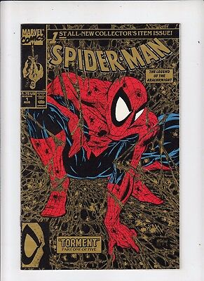 Spider-Man #1 (1990 Marvel) Todd McFarlane Gold 2nd print NM-