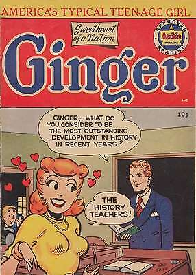 Ginger #1 (1952) - Photocopy Comic Book - Archie / Mlj