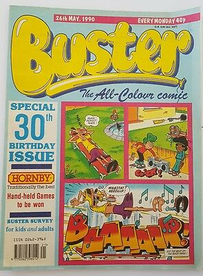 Buster 30th birthday issue 26th May 1990