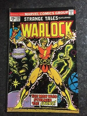 Strange Tales #178 Warlock Origin First Appearance Magnus Rare Us Cent Marvel