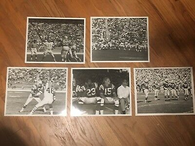 1960s AFL San Diego Chargers Photos - Alworth, Ladd, Lowe, Kemp, Lincoln, Faison