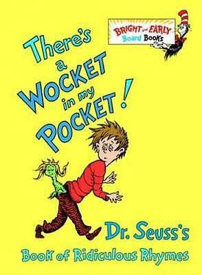 NEW There's a Wocket in My Pocket! By Seuss Dr Hardcover Free Shipping