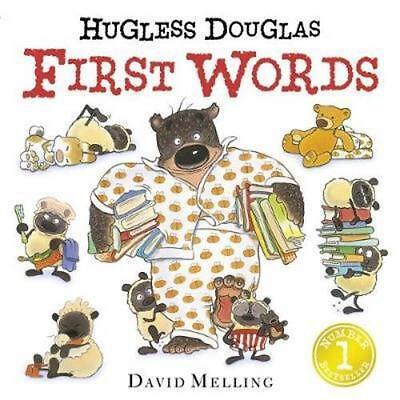 NEW Hugless Douglas First Words By David Melling Board Book Free Shipping