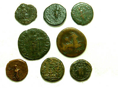 Lot of 8 Provincial coins (2)