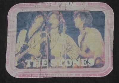 RARE Vintage 1970's ROLLING STONES PHOTO T-SHIRT The Stones SOFT / THIN NR!