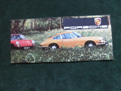 1968 Porsche Brochure Coupe Targa Convertible 911 912 Estes-Zipper Beverly Hills