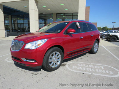 2014 Buick Enclave FWD 4dr Premium FWD 4dr Premium SUV Automatic Gasoline V6 Cyl RED