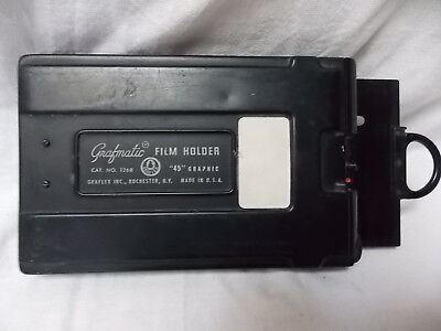 "Grafmatic Film Holder # 1268 "" 45 "" Grafic 6 Septums"