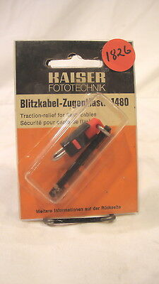1826 - Kaiser Fototechnik Traction Relief for Flash Cables Bracket /  Germany
