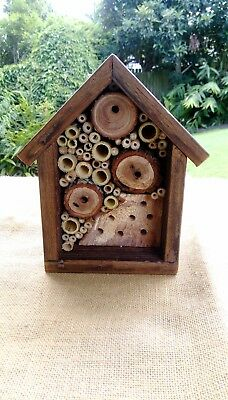 BEE-HOUSE (australian made bee-spoke bee houses for solitary native bees)