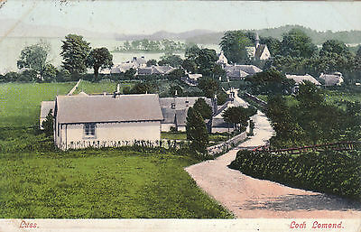 Early Village View, LUSS, Dunbartonshire