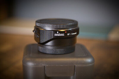 Metabones Mark IV Sony Emount  to Canon EF Lens Adapter -Basically New Condition