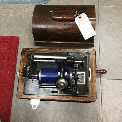 Edison Standard Phonograph with 2 & 4 minute conversion
