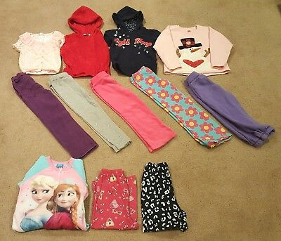 Lot of Girls Toddler Fall & Winter Clothing 4T/5T Free Shipping!