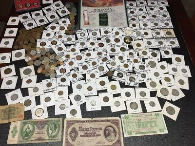 Huge Lot 300Coins USA&World~Silver Mercury/WL~V~Indian~1909-VDB~Proof~Buffalo+++
