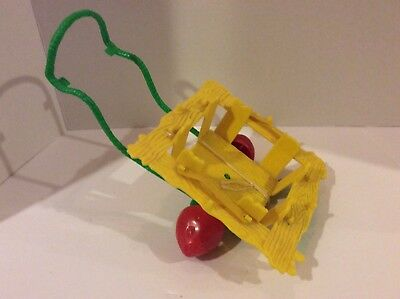 Vintage Strawberry Shortcake SNAIL WAGON Incomplete Doll Accessory Parts Repair