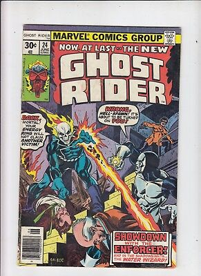 Ghost Rider #24 (Marvel 1977) VG