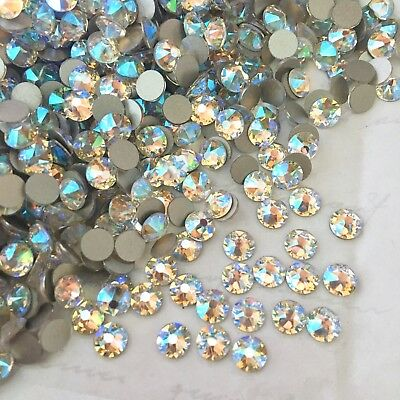 Swarovski Crystal Shimmer 100 x SS20 effect Diamantes rhinestones dance glue on