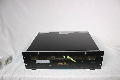 Evertz 7700 Frame with 9x 7720AE4 AES Audio Embedder Cards and 7700FC Frane Cont