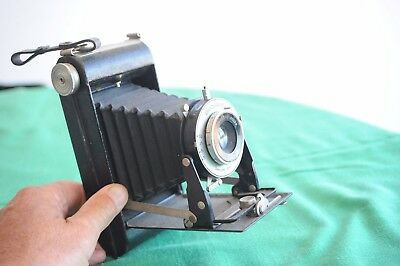 Antique folding camera Brownie Six-20