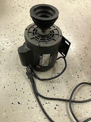 Delta 11-990 drill press 115v single phase electric motor w/ pulley & power cord