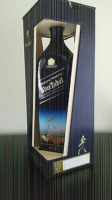 Johnnie Walker Scotch Whisky Blue Label Zodiac Rooster 1L!! Duty Free! 1L!