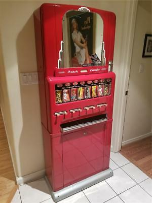 1950's Stoner Candy Machine - Restored - 100% Complete And Works Perfect!