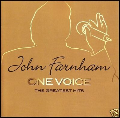 JOHN FARNHAM (2 CD) ONE VOICE ~ GREATEST HITS / BEST OF ~ SADIE 70's 80's *NEW*