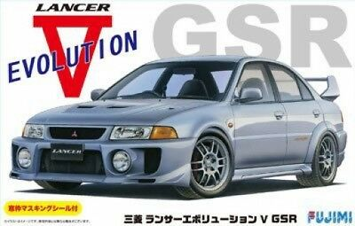 Fujimi ID-100 Mitsubishi Lancer Evolution V GSR 1/24 Kit HTR Japan Import