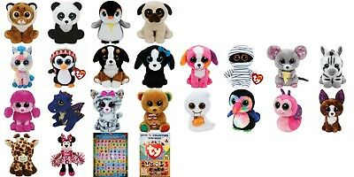 """Ty Beanie Boos OR Beanie Babies or Beanies 6"""" - Choose Your Favourites NWMT Boo"""