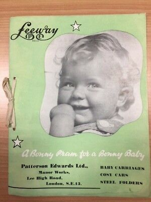 Vintage Baby Infant Carriages Catalogue