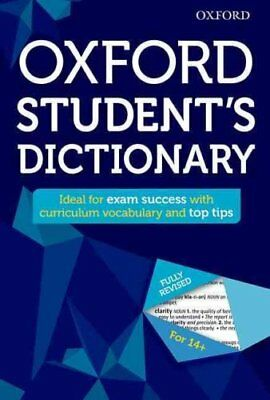 Oxford Student's Dictionary by Oxford Dictionaries 9780192742384