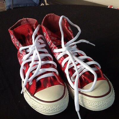 Unisex Converse All Stars - New Laces - Size Mens 5 And W Size 7