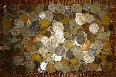 Lot Of (5) Pounds Mixed World Coins All Dated Pre-1940 B!!!!