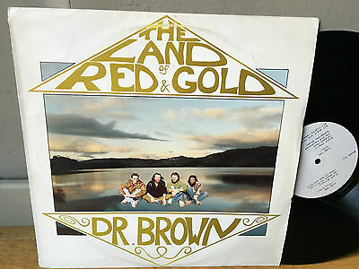 LP  DR BROWN The Land Of Red And Gold PRIVATE PRESS PROG