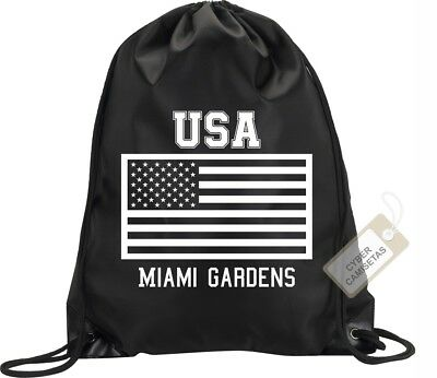 Backpack Bag Miami Gardens Usa United States Gym Handbag Sport M1