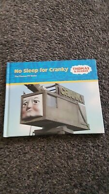 thomas and friends no sleep for cranky book