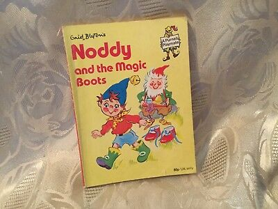 1982 Noddy And The Magic Boots Book Purnell