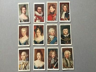 John Players Kings And Queens Cigarette Cards
