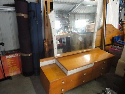 Retro Dressing Table with large mirror PRICE REDUCED