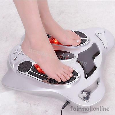 Electric Foot Massager Circulation Blood Booster Infrared Deluxe Foot Care Tool