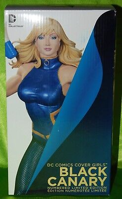 DC Collectibles Cover Girls BLACK CANARY (Green Arrow) statue - MINT/NRFB