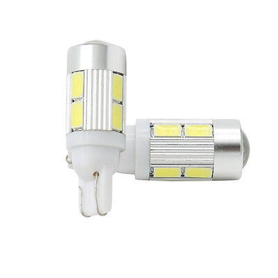10stk T10 10SMD 5630 LED 12V Xenon w5w Canbus Standlicht Weiß Beleuchtung Lampe